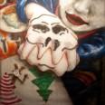 Череп. 2012. Холст, акрил, 200х200 см.   Skull. 2012. Acrylic on canvas, 200x200 sm