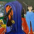 Дух. 2014. Холст, акрил, 100х120 см.    Spirit. 2014. Acrylic on canvas, 100х120 sm.