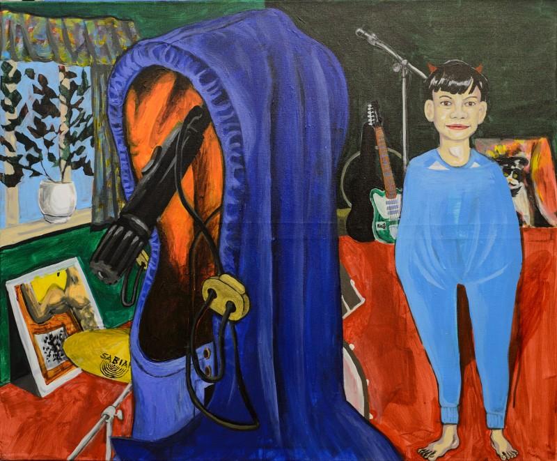 Дух. Холст, акрил, 100х120 см,  2014 г. Spirit. Acrylic on canvas, 100х120 sm,  2014