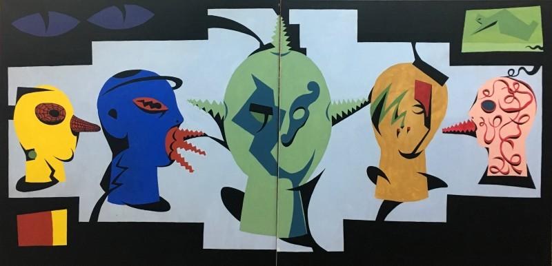 маски диптих